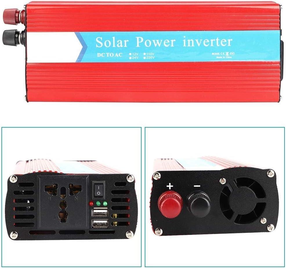 KDDD Auto Convertidor de energía fotovoltaica 12V a 220V Energía Solar para automóvil Inversor de 10000W Productos de Calidad Duradero