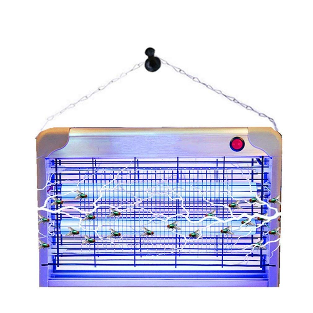 PLUIESOLEIL Mosquito Killer Electric, Fly Killer for Indoors 2-In-1 Bug Zapper UV Lamp 20W For Home Kitchen Garden Garage Patio Porch