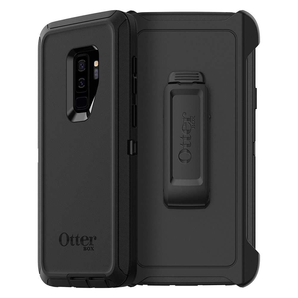 OtterBox Defender Series Case for Samsung Galaxy S9+ - Frustration Free Packaging - Black by OtterBox
