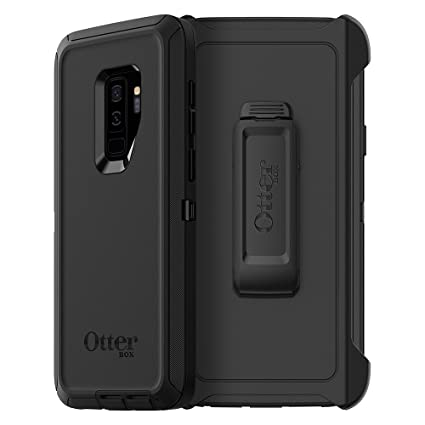 half off b044f 7d36a OtterBox Defender Series Case for Samsung Galaxy S9+ - Frustration Free  Packaging - Black