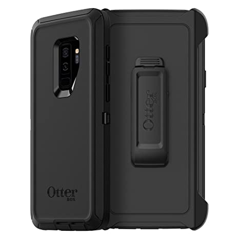 OtterBox Defender Series Case for Samsung Galaxy S9+ - Frustration Free Packaging - Black