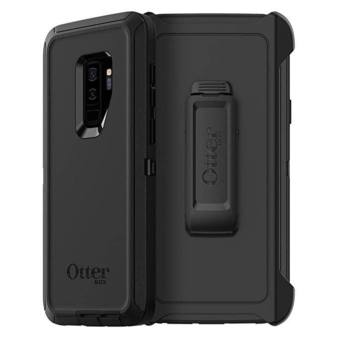 half off 4ff8c fc542 OtterBox Defender Series Case for Samsung Galaxy S9+ - Frustration Free  Packaging - Black