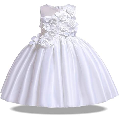 1f52910bb5f1d Amazon.com: 2019 Summer Party Princess Dress Girl Wedding Kids ...
