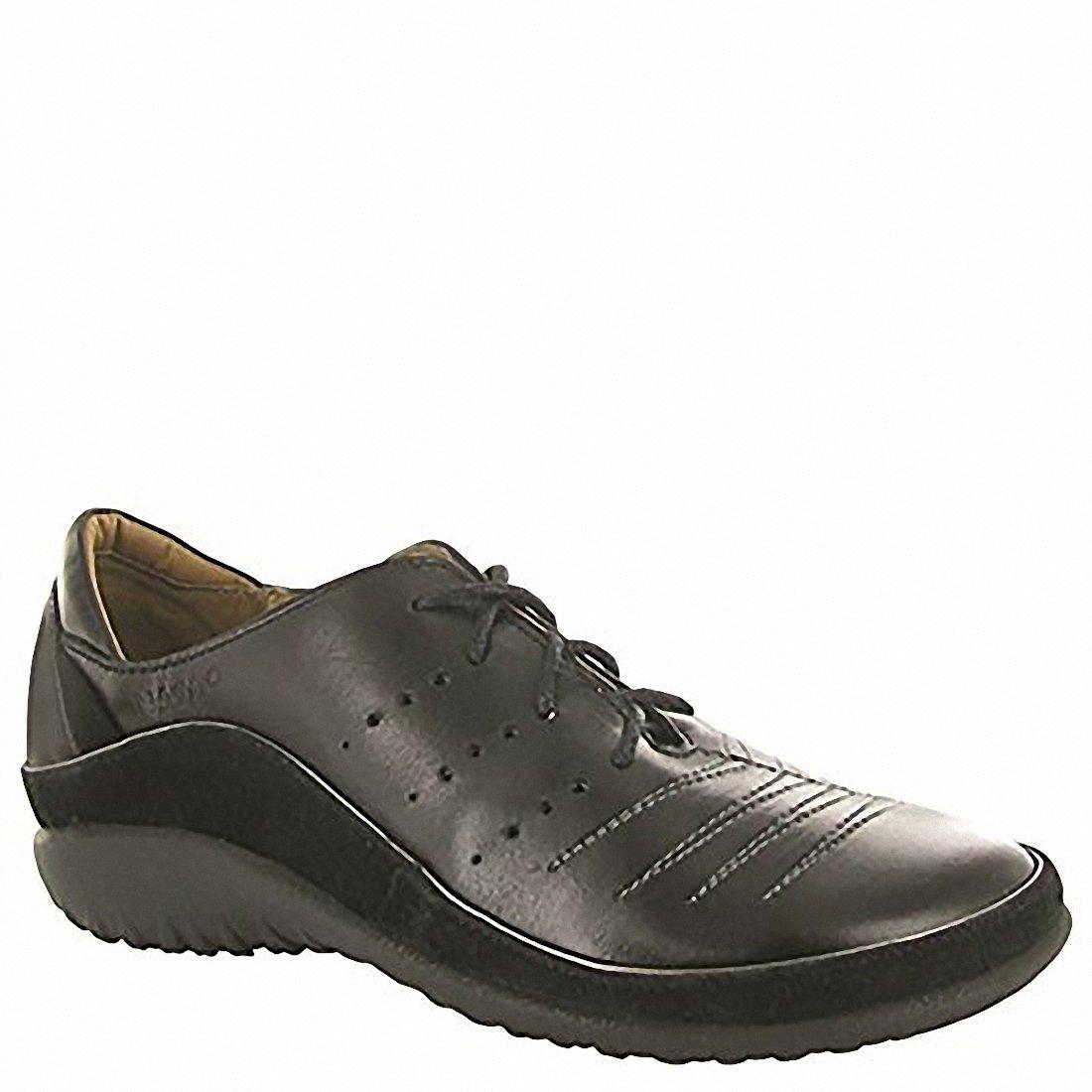 NAOT Kumara Koru Women Flats Shoes B01MG3K695 37 M EU|Black Madras/Black Suede