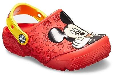 9b0d0c22 Amazon.com | Crocs Kids' Boys and Girls Disney Mickey Mouse Clog ...