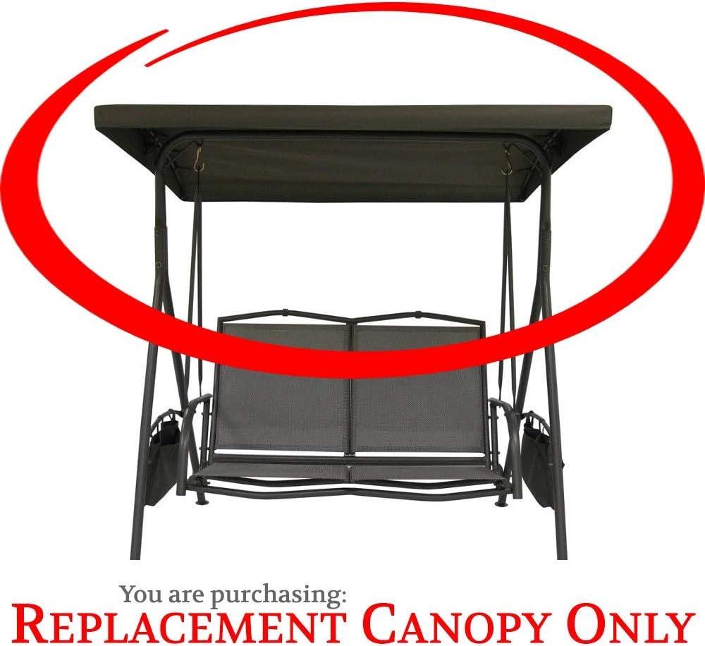 Garden Treasures 2-Seat Swing Replacement Canopy Fabric