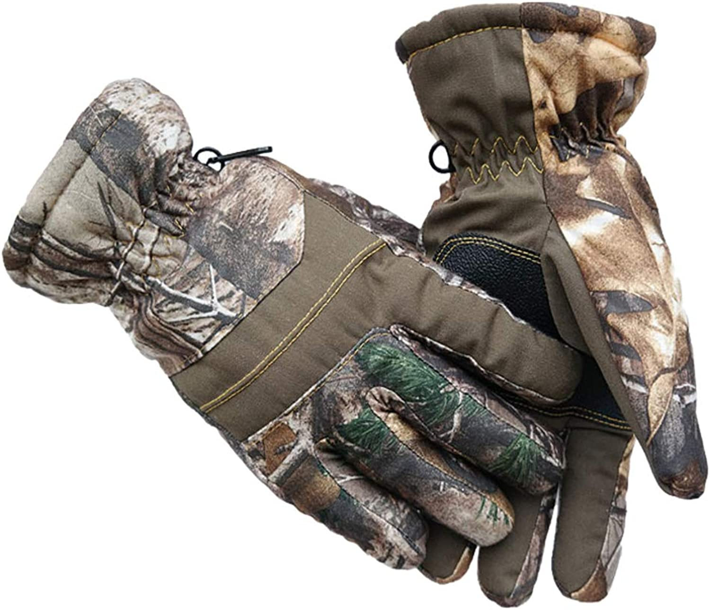 Women Winter Ski Gloves Windproof Waterproof Thick Biking Hand Warmers