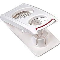 Leifheit Eiersnijder Combi ComfortLine serie met 3 functies, champignonsnijder snijdt schoon en nauwkeurig, keukenhulp…