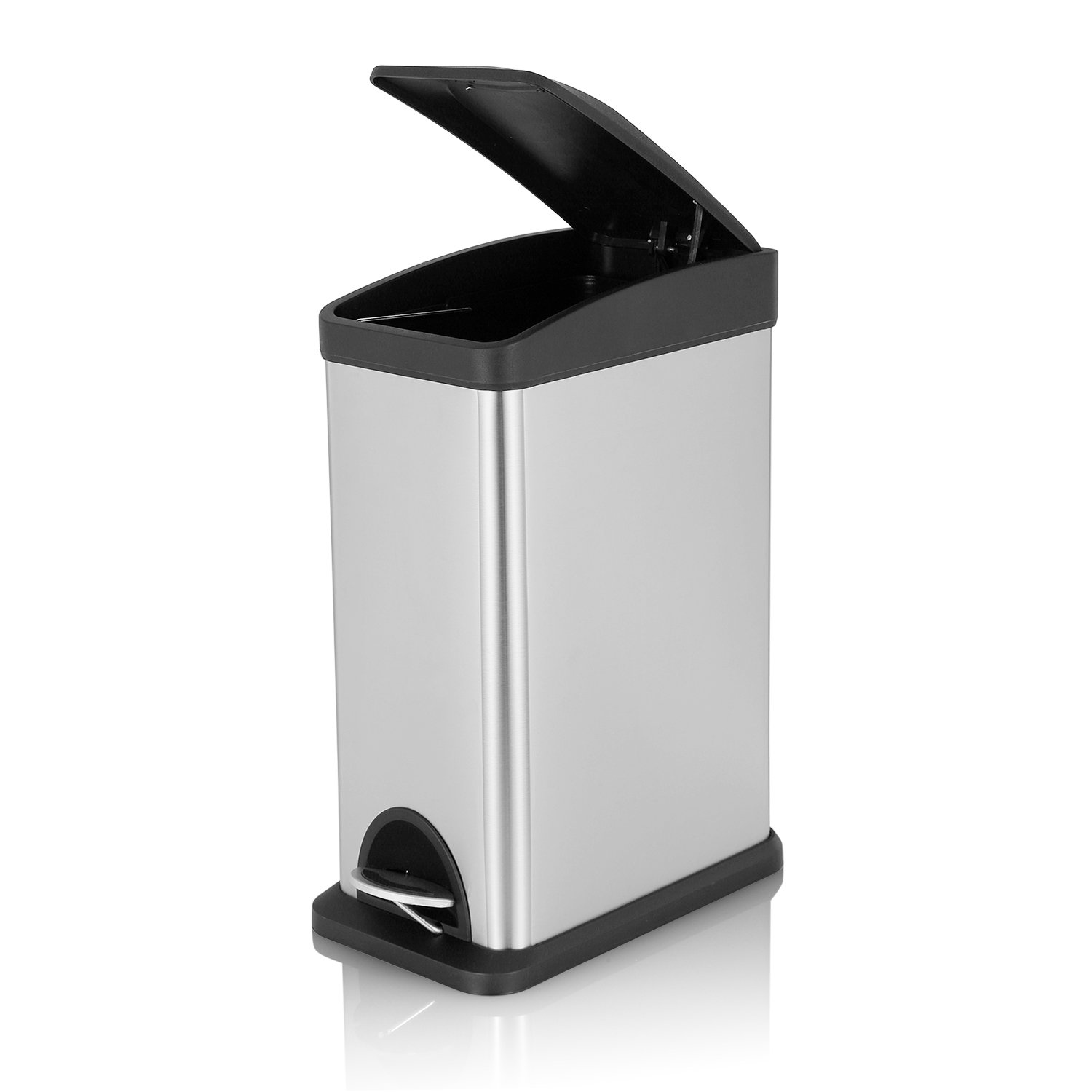 Amazoncom Fortune Candy Rectangular Step Trash Can Stainless