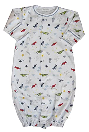 Amazon.com: Kissy Kissy Baby Aviators Print Convertible Gown ...