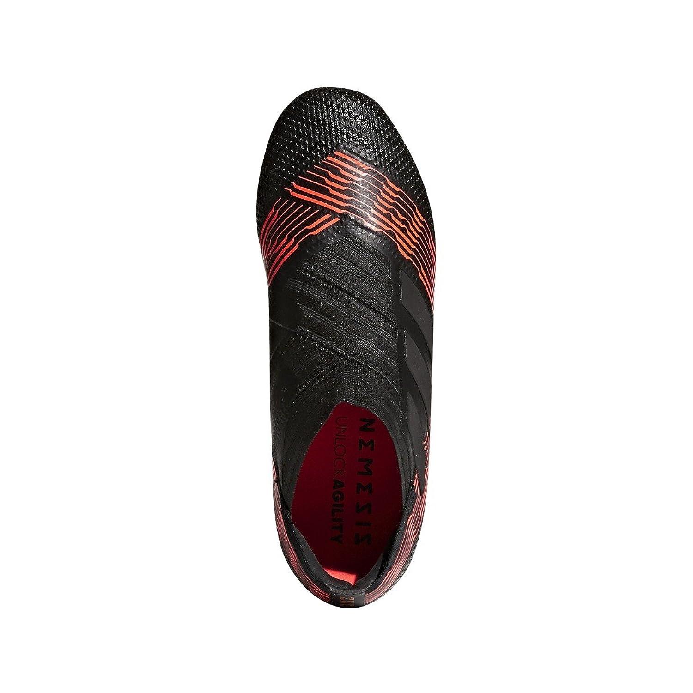 adidas nemeziz rosso 17   calcio ragazzino nero, terra ferma gli scarpini da calcio