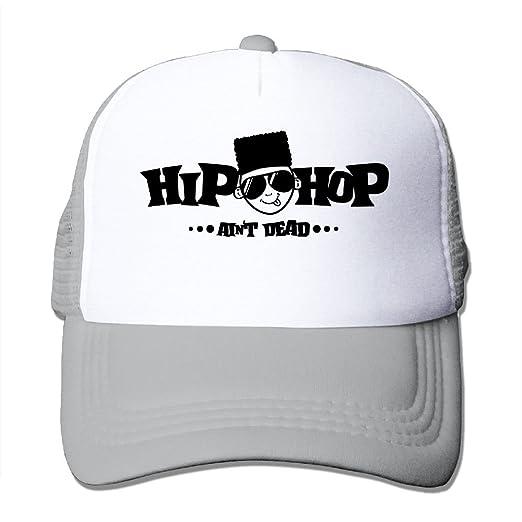 6e7681adfe1 NONGFU Baby Hiphop Aint Dead Big Foam Snapback Caps Mesh Back Adjustable Cap