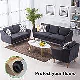"Anti Slip Furniture Rubber Pads 56 Pieces 1"" Non"