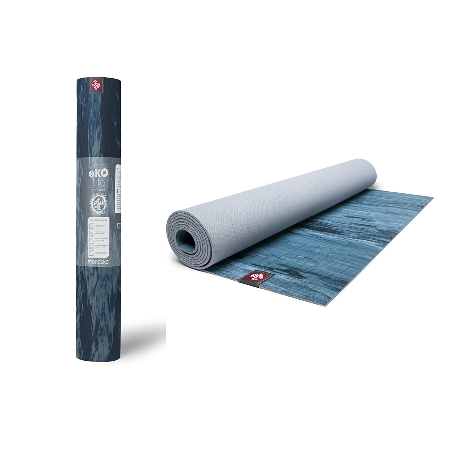 Manduka eKO Lite - Esterilla de yoga (4 mm), Ebb: Amazon.es ...
