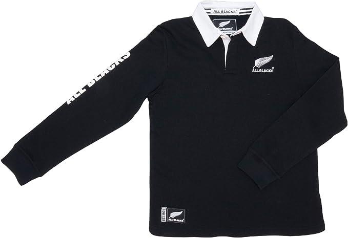 All Blacks - Camiseta de Manga Larga - para niño: Amazon.es: Ropa ...