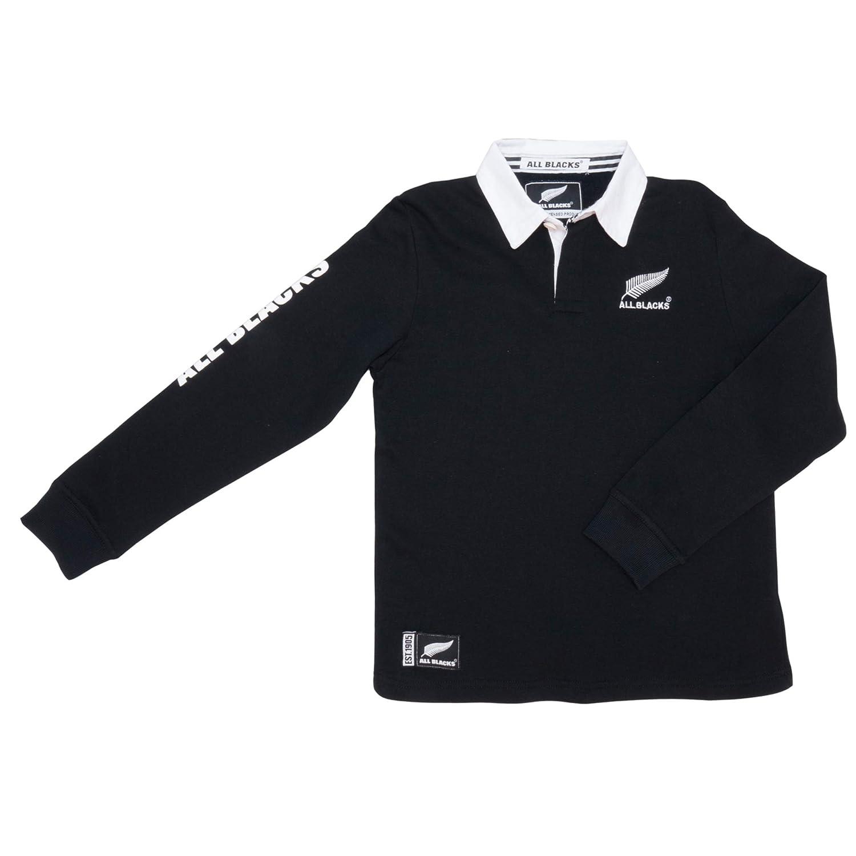 All Blacks - Camiseta de Manga Larga - para niño Negro Negro (7-8 ...