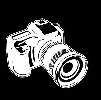 Pegatina de vehículo Cámara fotográfica Studio Art Photographer ...