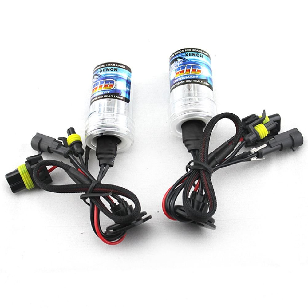 Car HID Xenon Single Beam Lights Bulbs Lamps 880 881 8000K crystal blue (12V,35W) - 1 Pair by Bingomama (Image #1)