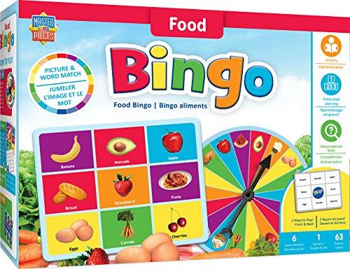MasterPieces Educational-Food Bingo Game, Multicolored]()