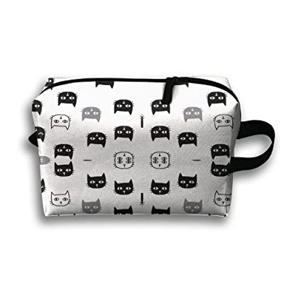 SO27Tracvel Cute Cats Toiletry Bag Dopp Kit Tactical Bag Accessories Travel Case