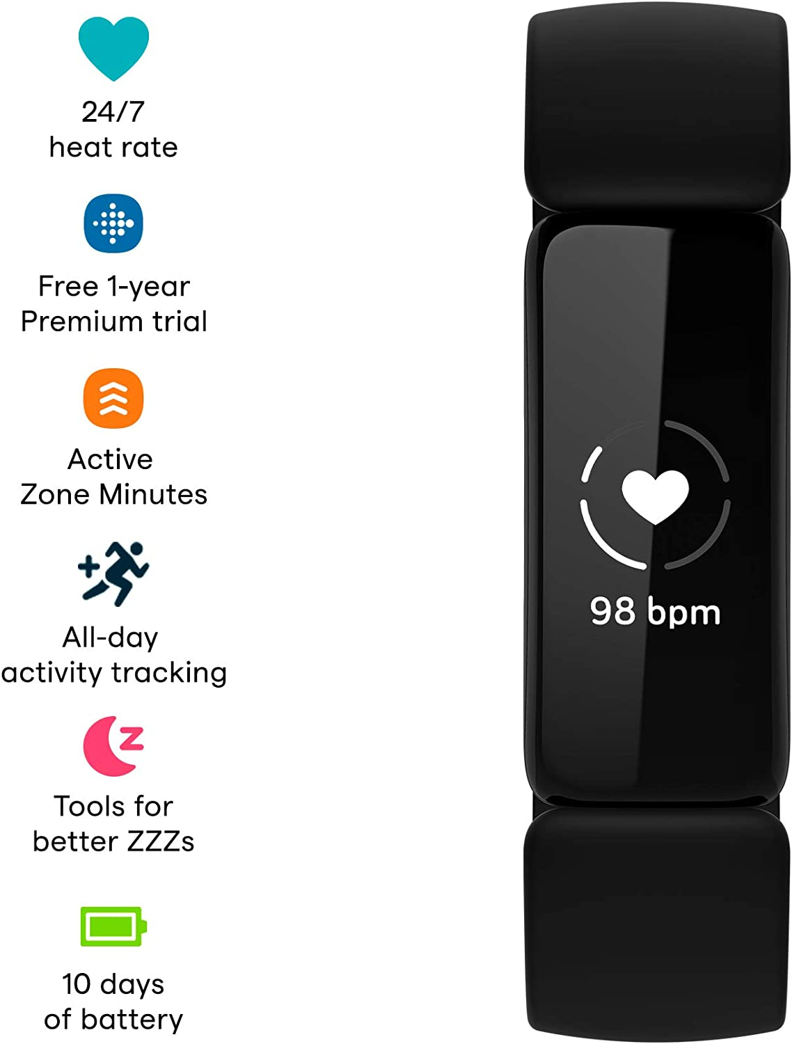 Fitbit Inspire 2 Health & …
