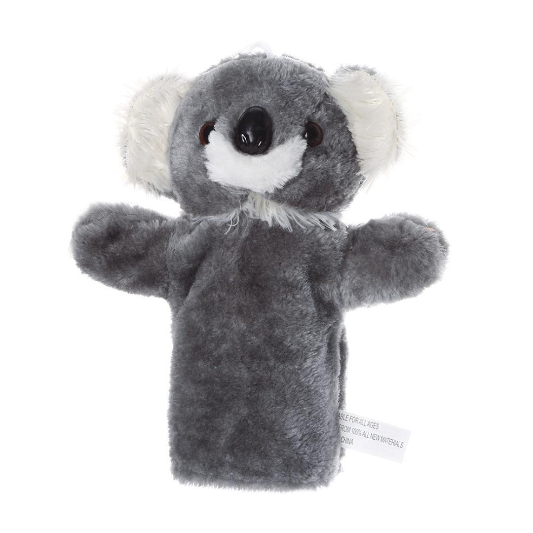 Cartoon Animal Doll Kids Children Glove Hand Puppet Soft Plush Toy Story Telling
