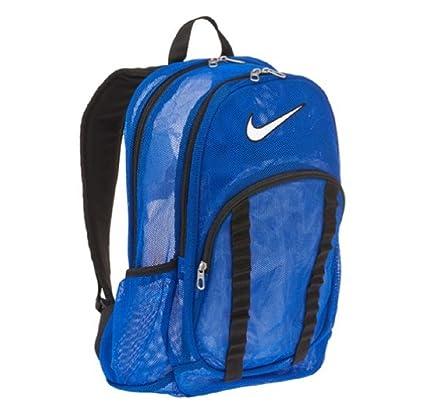 Amazon.com  Nike Brasilia Mesh Backpack - Blue  Sports   Outdoors