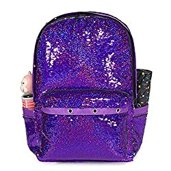 Reversible Sequin Backpack For Girls