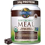 Garden of Life Meal Replacement Powder, 14 Servings, Organic Raw Plant Based Protein Powder, Vegan, Gluten-Free - Packaging M