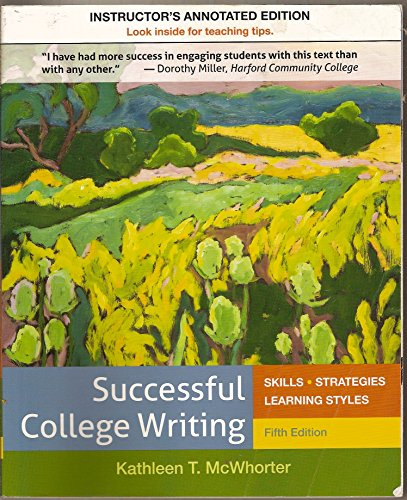 Successful College Writing Fifth Edition