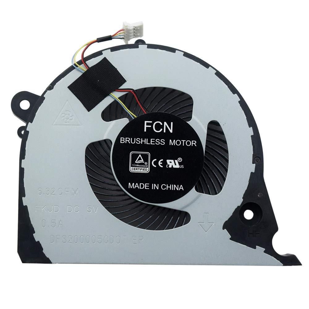 Cooler para Dell Inspiron 15 7577 7588 G7-7588 Series DFS2000054H0T 4Pins