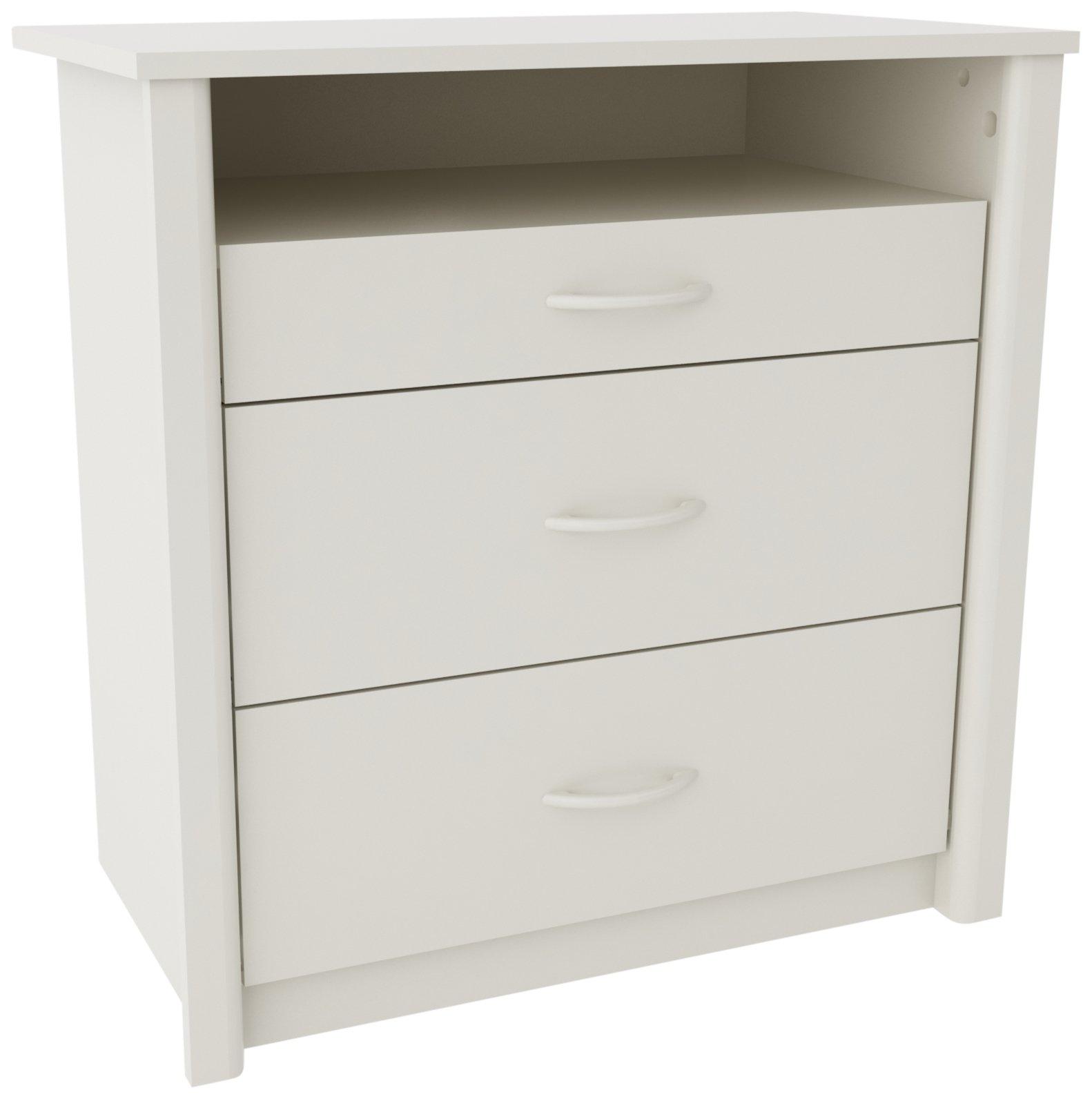 Altra Furniture Ameriwood Home Julian Media Dresser, White