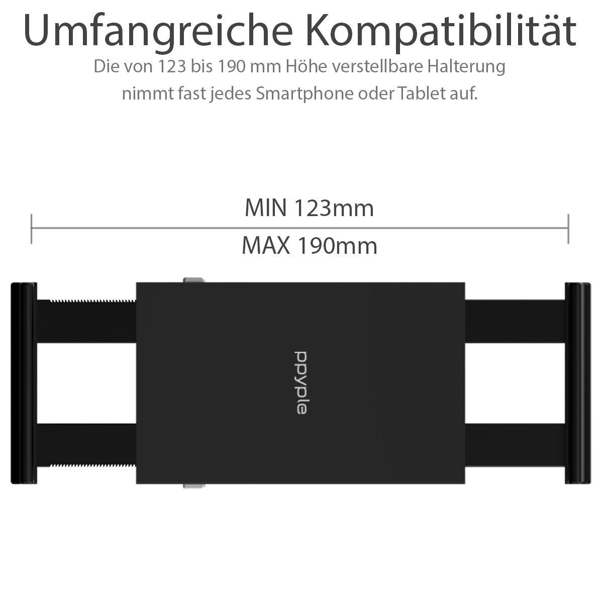 Original PPYPLE DASH-NT el soporte de coche universal para el salpicadero del coche con la bola de la articulación para el teléfono móvil, Smartphone, GPS, ...