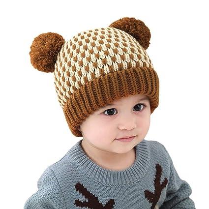 879c0bc8b32 Amazon.com  Little Kids Cartoon Winter Warm Hat