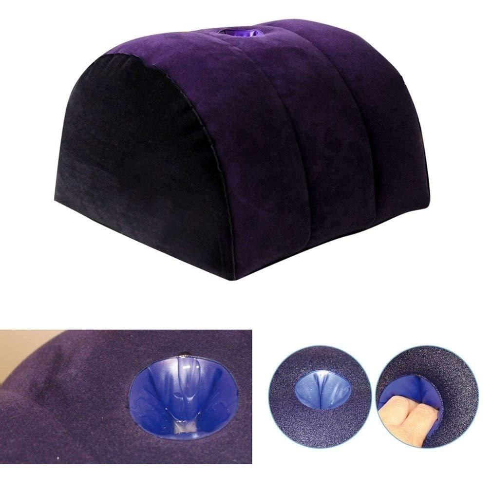 Teetown JIA-Bing Multifunction PVC Inflatable Magic Cushion Ramp Body Pillow Love Position Cushion Furniture for Couple Love Life