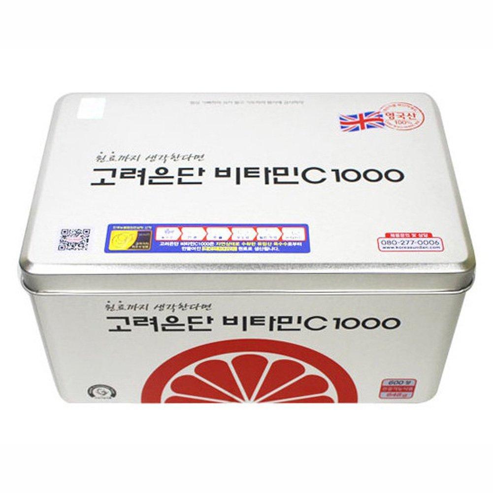 600 tablets Korea EUNDAN Vitamin C 1000mg 1BOX Fatigue Recovery Health Supplement Whitening