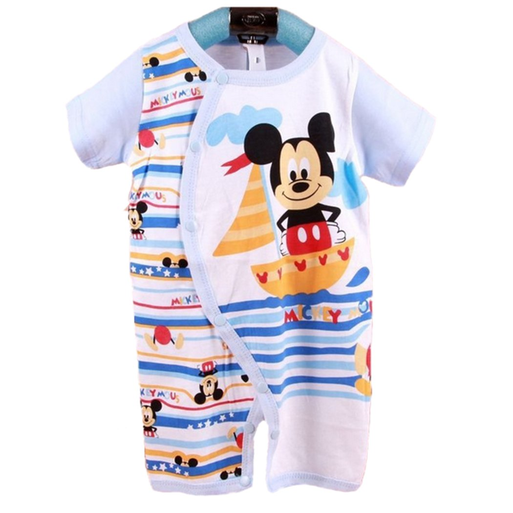 Gifts Are Blue Baby Boys Short Sleeve One-Piece Baby Romper