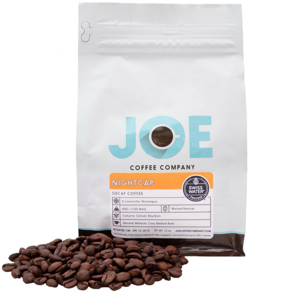 Joe Coffee Company, The Overnighter' Cold Brew Coffee Blend, Ground (Coarse Grind Size), 12 oz Bag, Small-Batch Specialty Roaster in NYC