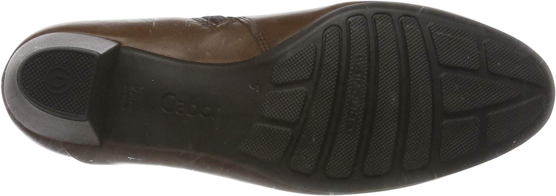 Gabor Comfort Sport dames laarzen Braun zadel Micro 51