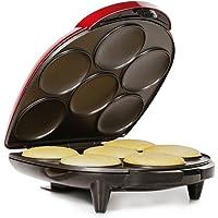 Holstein Housewares HU-09005R-M Arepa Maker - Metallic Red