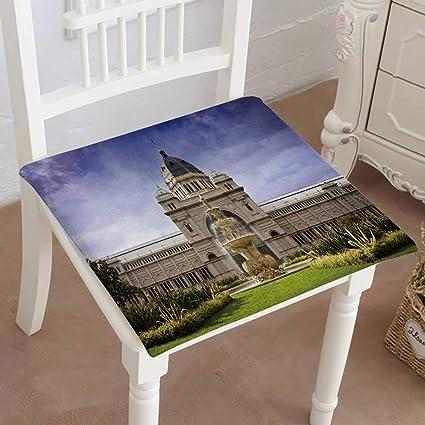 Enjoyable Amazon Com Mikihome Chair Pad Soft Seat Cushion Royal Home Interior And Landscaping Eliaenasavecom