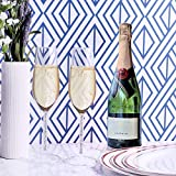 Juvale 2 Piece Set Wedding Champagne Toasting