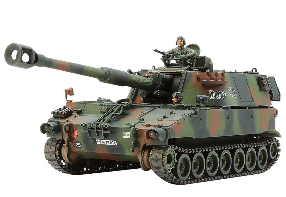 Tamiya 37022 1: 35Forze armate tedesche m109a3g Obice veicolo TM37022