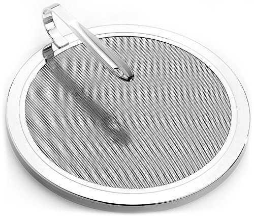 All-Clad T187 Stainless Steel Mesh Splatter Screen with Curved Handle / Cookware, 13-Inch, Silver