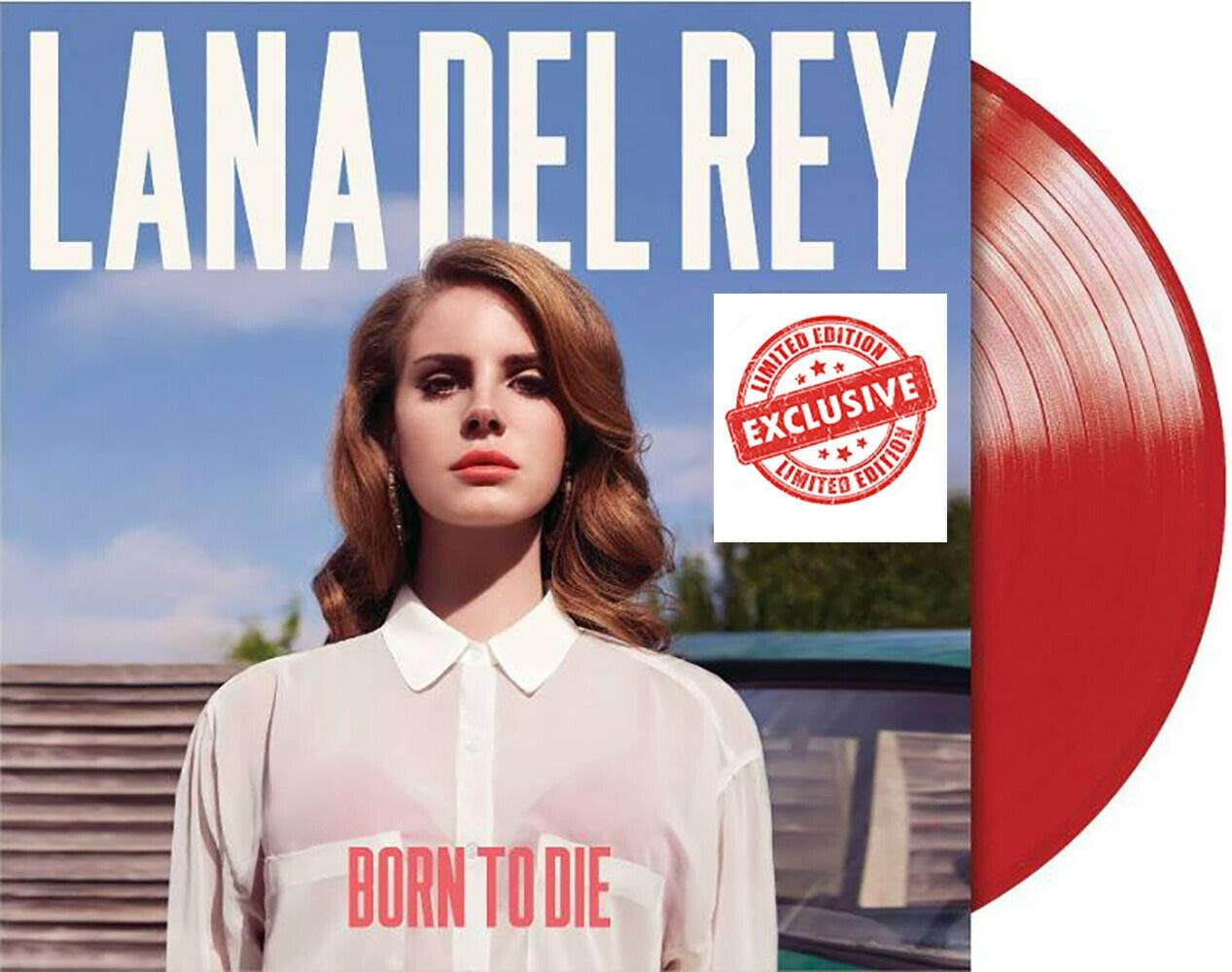 Lana Del Rey Various Artists Born To Die Exclusive Limited 2020 Edition Red Colored Vinyl Lp Amazon Com Music