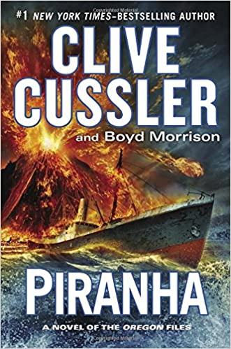 Image result for piranha book cussler