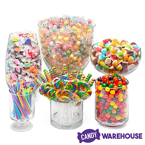 Rainbow Candy Kit - Party Candy Buffet Table ()
