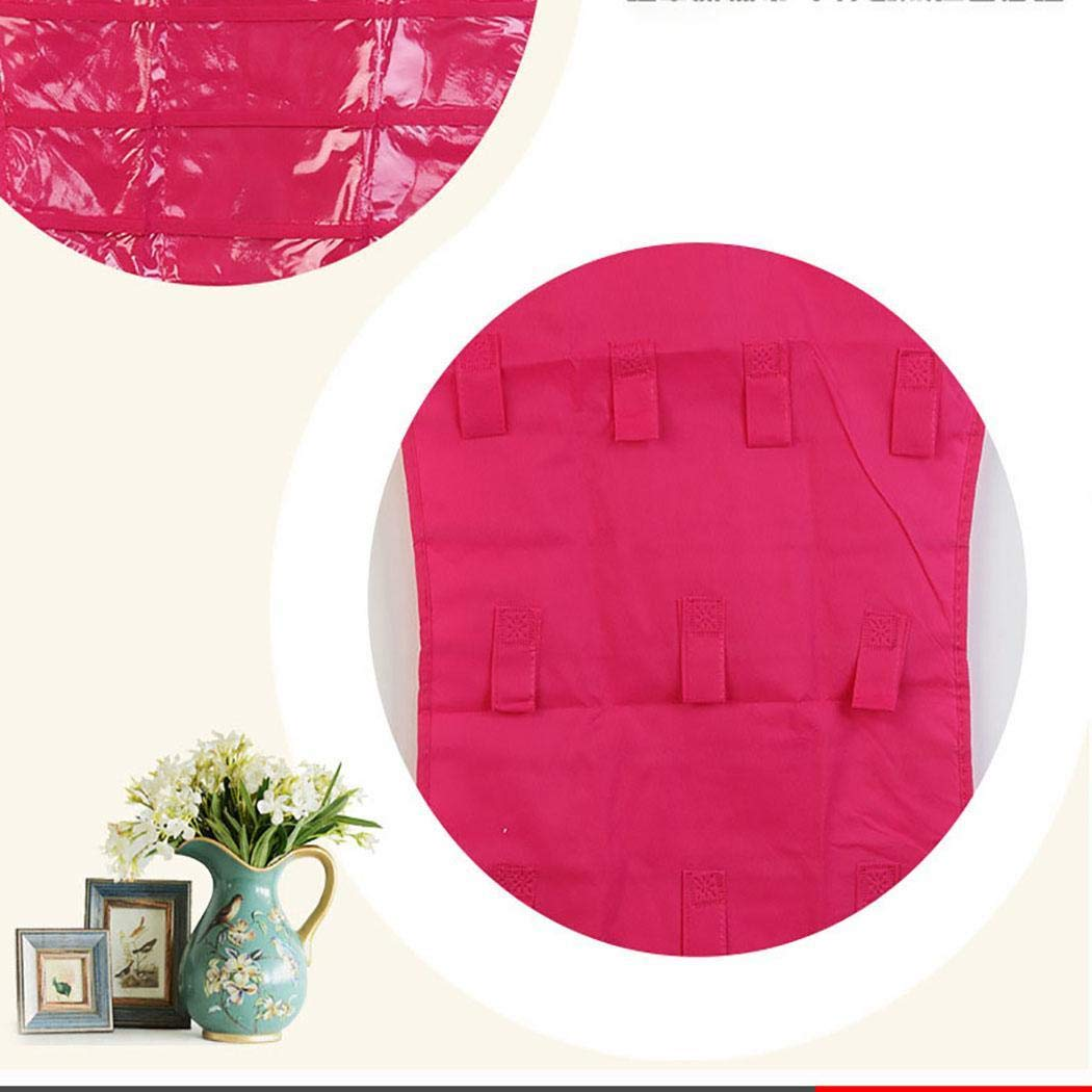 melysUS Creative Jewelry Hanging Bag Socks Bra Underwear Storage Rack Hanger Space Saver Bags