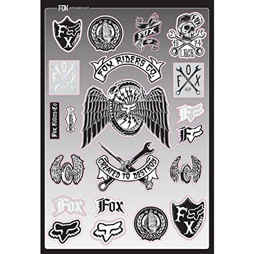 Fox Mens Stringent Sticker Sheet