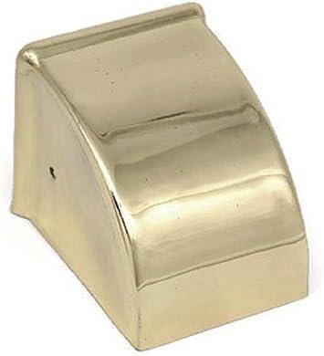 "1 1//2/"" Furniture Leg End Cap Toe Caps Plain Duncan Phyfe Toe Cap Brass Med"